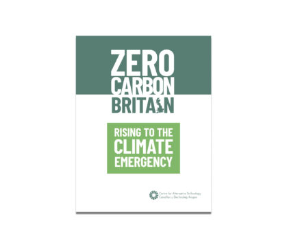Zero Carbon Britain report 2019 front cover