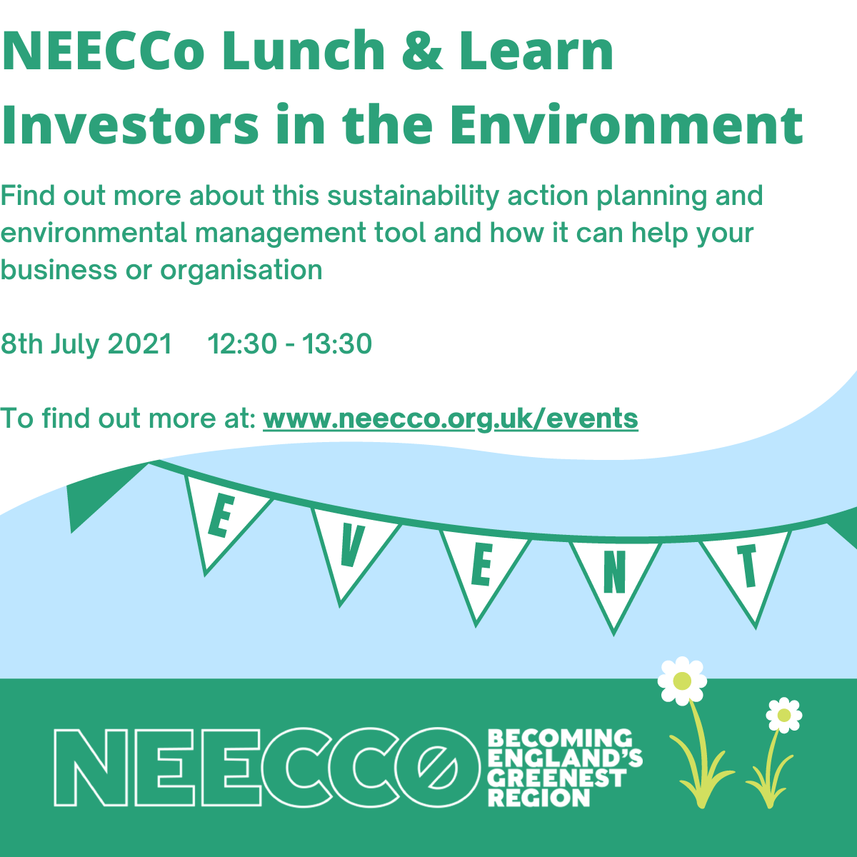 NEECCo Investors in the Environment event 8th July 2021