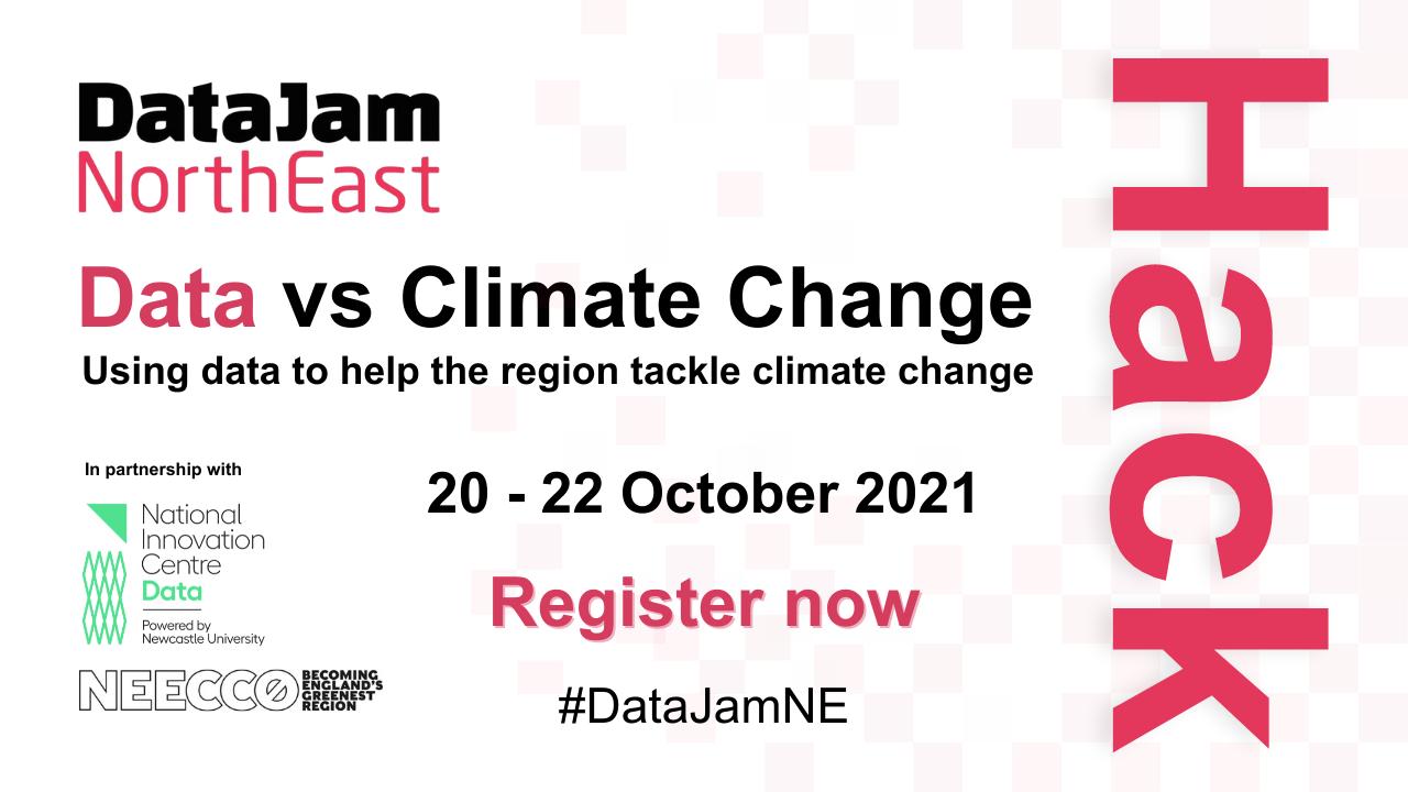 DataJam North East Data vs Climate Change Hackathon