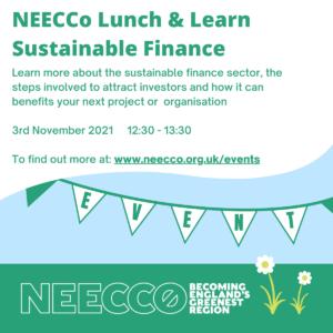 Sustainable Finance 3rd November image